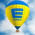 Edeka Heißluftballon